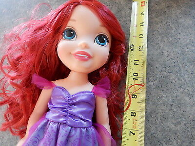Disney Princess Toddler Doll Little Mermaid Ariel