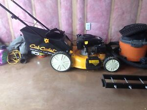 1 year old cub cadet mower