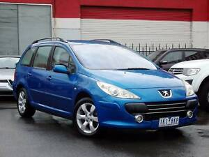 2007 Peugeot 307 AUTO Wagon *** TURBO DIESEL ***  $4,750 DRIVE AWAY Footscray Maribyrnong Area Preview
