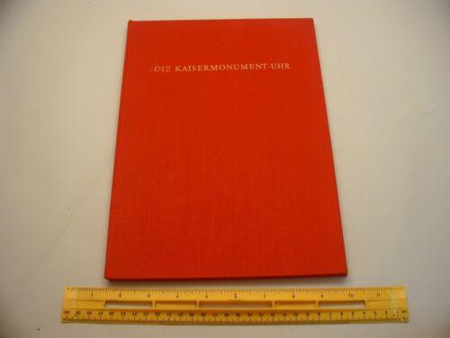 Book 463 - Die Kaisermonument-Uhr