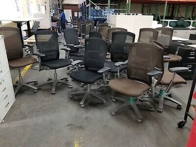 Used Ergonomic Knoll Life Series Office Chairs