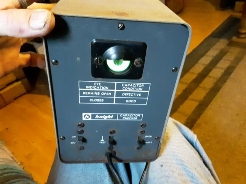 KNIGHT Capacitor Checker Meter Tester