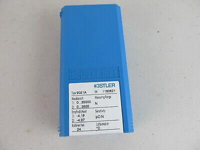 Kistler Piezoelectric Force Sensor Ring Transducer 9021a W Case