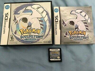 POKEMON SOULSILVER W/CASE AND MANUAL! GREAT CONDITION! TESTED!