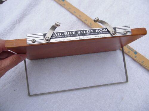 VINTAGE READ-RITE STUDY BOARD, NORTHFIELD MINNESOTA Quality Hardwood