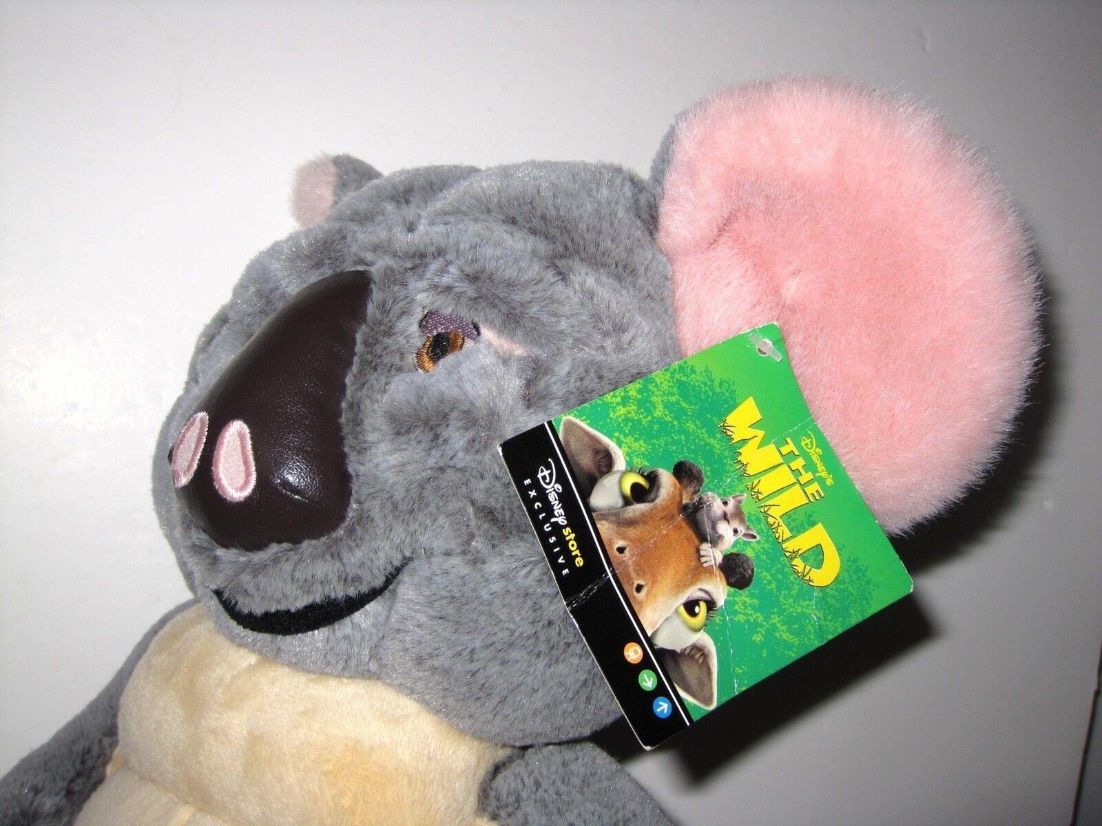 The Wild Toys : Disney store exclusive quot soft toy the wild koala nigel