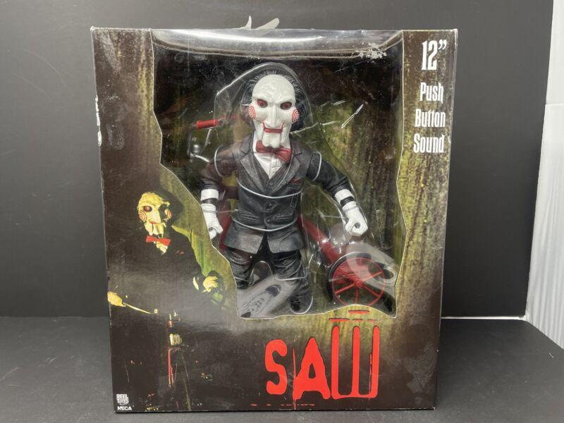 "Saw Jigsaw (Billy) NECA Reel Toys 12"" Figure W/sound Factory Seal Tricycle"