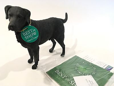Black Labrador by Country Artists Best in Show IOB Dog
