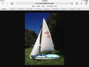 ECHO 12 SAILBOAT and trailer (extra)