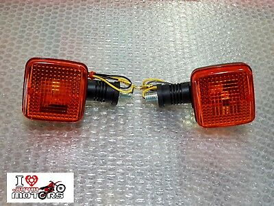 YAMAHA TDR250 DT125R TW125 TW200 XT600 NEW PAIR INDICATORS, used for sale  Shipping to United States