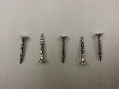 Stainless Steel Deck Screws2 Square Drive 8 X 1-14 Type 17 Point. Qty85