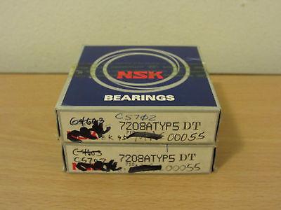 Nsk 7208atydtp5 Super Precision Bearings Timken Fafnir 3mm208wi Dul