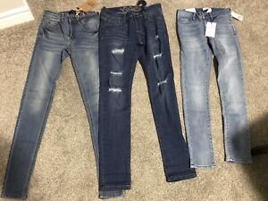 Brand new jeans FashionNova and Forever 21-size 0,1 and 24