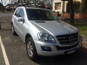 2009 Mercedes-Benz ML280 Factory SAT NAV, DVD, Sunroof, PowerSeat Albert Park Port Phillip Preview