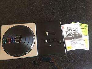 DJ Hero 2 + turntable Perth Perth City Area Preview