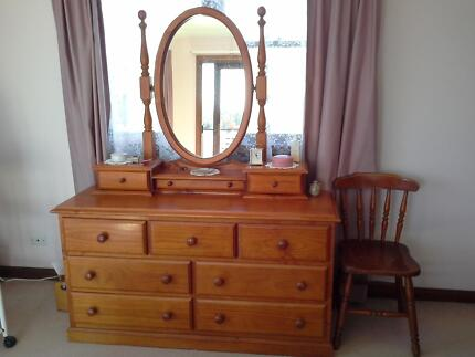 Dressing Table with Duchess Mirror Mona Vale Pittwater Area Preview