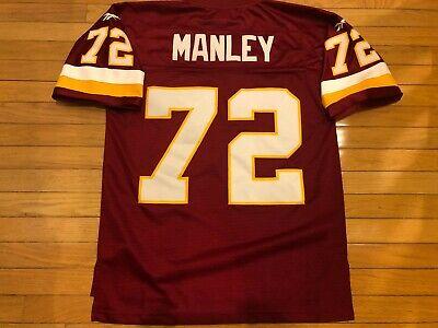 Reebok Throwbacks Dexter Manley #72 Washington Redskins jersey Stitched Mens -