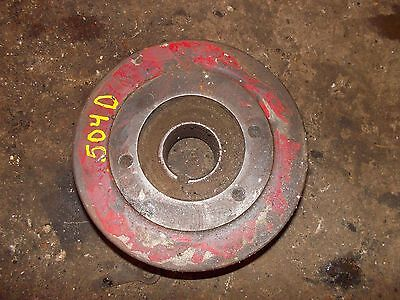 Farmall Ih 504 Diesel Tractor Main Diesel Engine Motor Crankshaft Belt Pulley