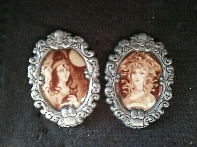 2 Disney Pins-Haunted Mansion