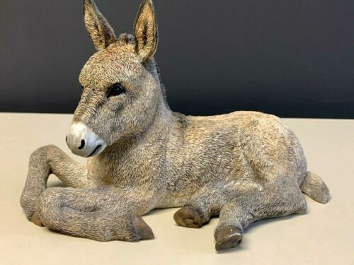 """Country Artists Donkey Mule Figurine  Realistic 6"""""""