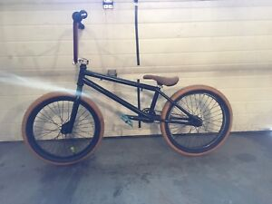 Bmx with free coaster