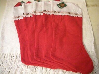 ***Sale***FELT CHRISTMAS STOCKINGS 17in. 5 pack ()