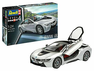 Revell 07670 BMW i8 Plastik Modellbausatz 1:24 NEU