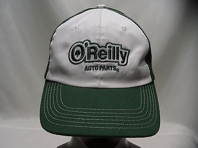 Oreilly Auto Parts   Green   White   Adjustable Ball Cap Hat