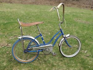 Vintage Royal Deluxe Girls Stingray Bicycle Bike West Germany Schurmann TWIN TOP