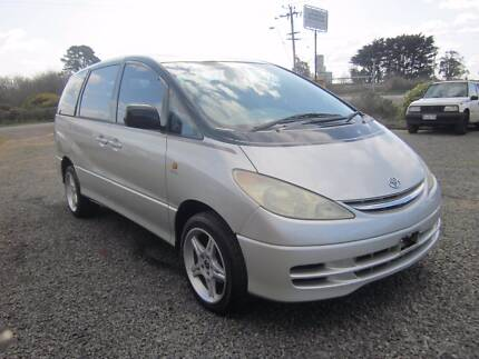 2002 Toyota Tarago GLi Wagon 8 Seat Auto Westbury Meander Valley Preview