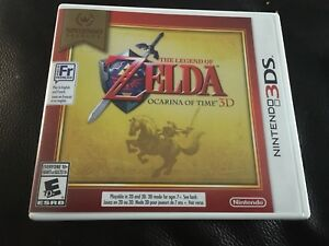 Zelda ocarina of time for 3ds