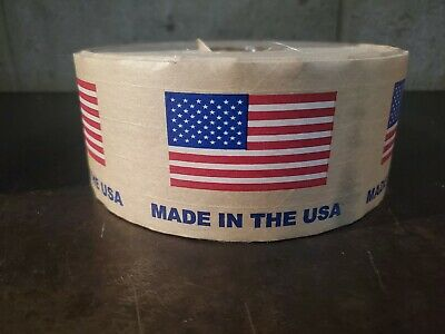 Gummed Tapereinforcedamerican Flag Tape 1 Roll 450 Ft Niceeeeeeeeee