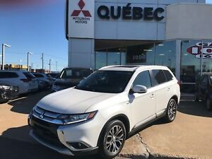2016 Mitsubishi Outlander SE V6 AWD Toit, mags 18pc & 7 places