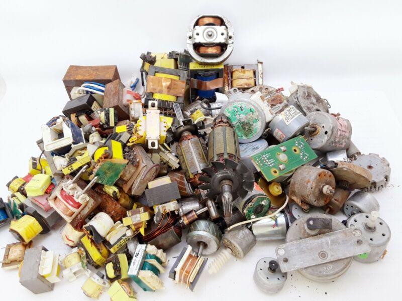 14 Lbs Motors & Transistors Scrap Copper For DIY Projects Crafts Jewelry Melt