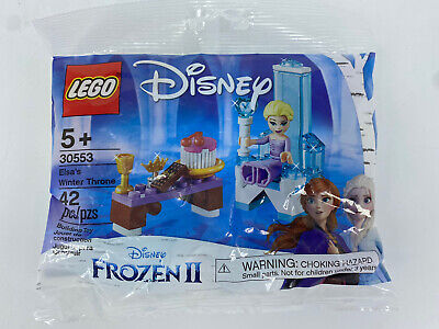 NEW LEGO Frozen 2: Elsa's Winter Throne (30553) - Fast Free Shipping