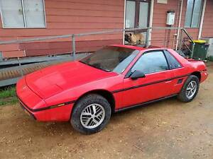 1984 Pontiac Fiero, LHD for resto, parts,kit car conversion $1550 Gawler Gawler Area Preview