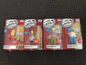 The Simpsons 25th Anniversary Talking Figures Adelaide CBD Adelaide City Preview