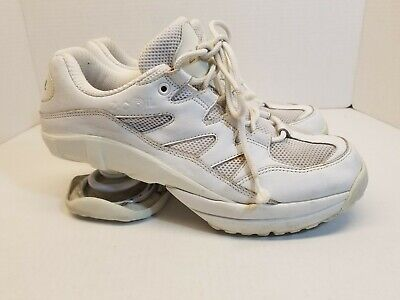 Z-COIL Freedom Classic Mens Size 10 White Orthotic Sneakers Shoes MSRP $260