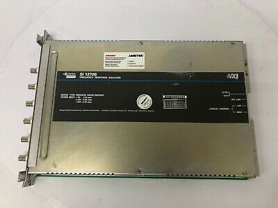 Solartron Instruments Frequency Reponse Analyzer Si 1270b