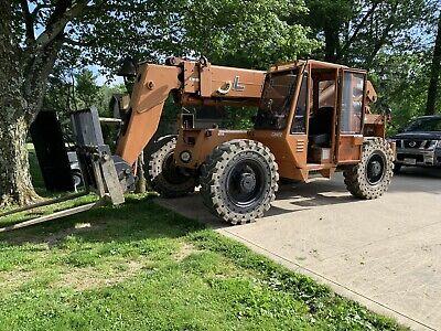 1997 Lull 844c42 8000 Lb 4x4x4 Telescopic Forklift - Telehandler Great Condition