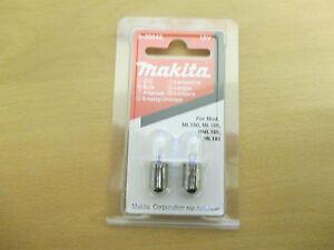 Genuine Makita A-30542 Torch Light Lamp Bulb Bulbs 18v 18 Volt ML180 BML185  S30