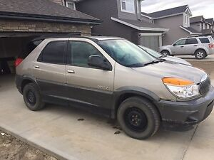 For sale 2002 buick rendezvous.