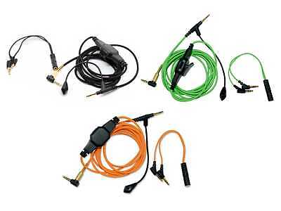 Boom Volume Cable & Mic for Bose-QC25 For Skype PS4 Xbox One PC Laptop