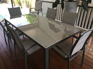Modern outdoor dining suite Sandgate Brisbane North East Preview