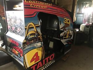 Classic Indy arcade game man cave racing