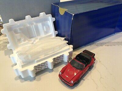 Franklin Mint Precision Model, 1988 Porsche 911 Cabriolet, 1/24 Scale