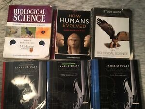 McMaster Text Books!!
