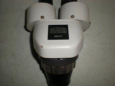 Bristoscope Bristoline Microscope Head With 10x Eyepieces