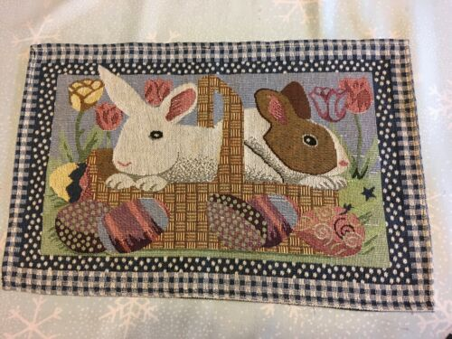 SPRING PLACE MATS & RUNNERS - REDUCED by $45 8 mats + 5 Runners