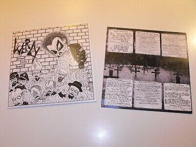 "WERLY - ""Drown Into Vomit"" LP. Belgian hardcore punk/crust. Hiatus, Unhinged"